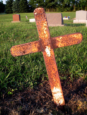 Rusted Cross