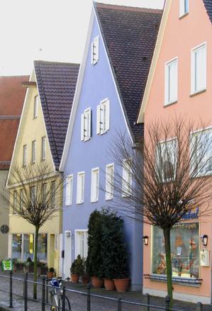 kolorowe domki