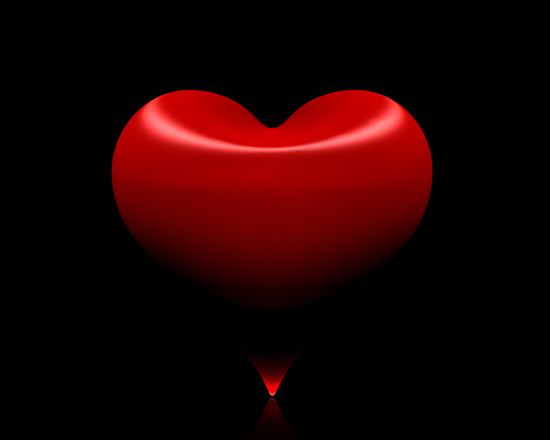 Free Red Heart In 3D Stock Photo FreeImagescom