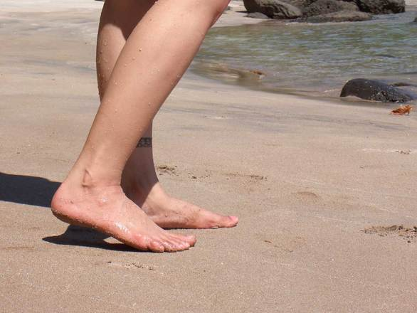 jasmine on the sand