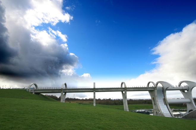 Falkirk Wheel, Scotland