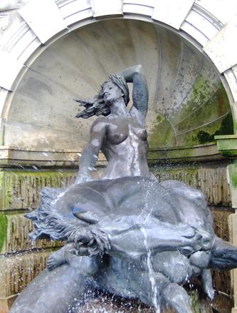Goddess in Fountain