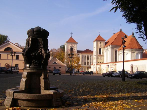 Kaunas market square