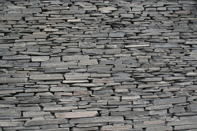 Free Grey Stone Wall Texture Stock Photo