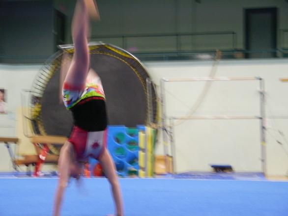 little canadian gymnast