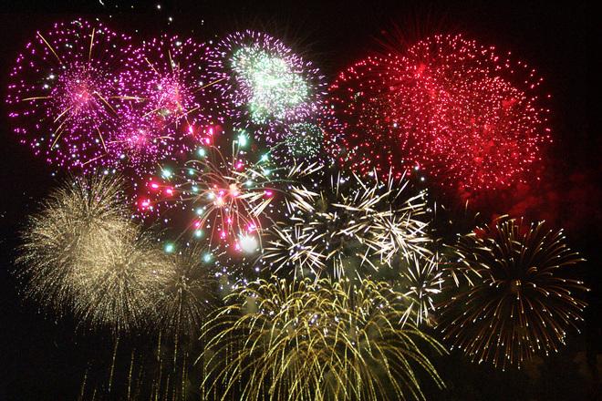 Fireworks Collage 1