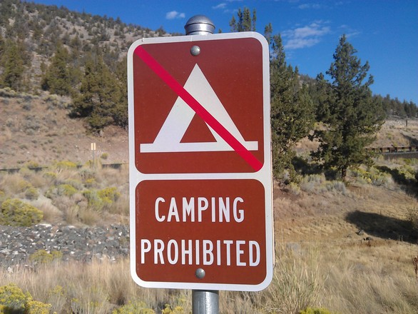 Camping Prohibited 1