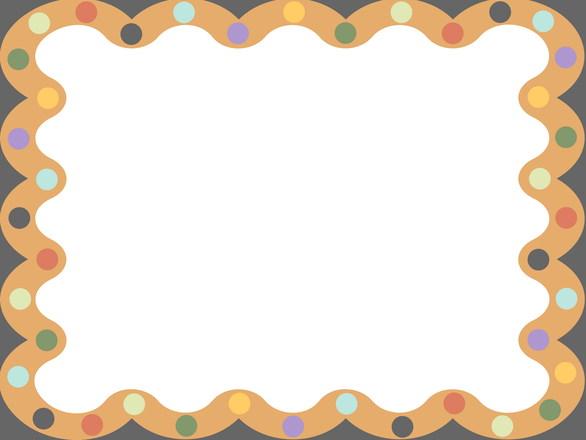抽象图形边框