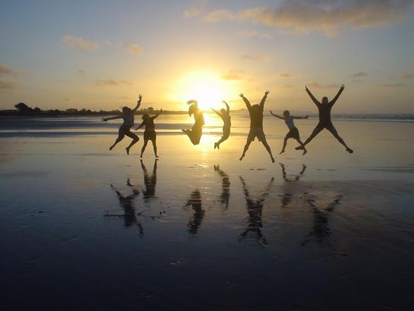 free jump for joy stock photo freeimagescom