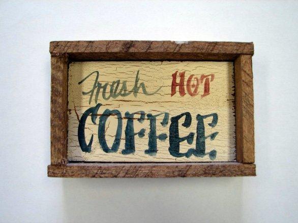 Fresh hot coffee