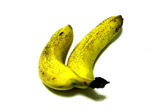 Free Pair Of Bananas 3 Stock Photo Freeimages Com