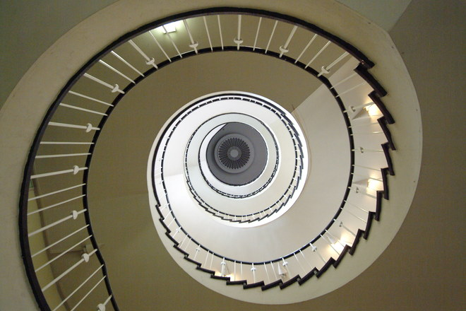 Free Spiral Stair Stock Photo