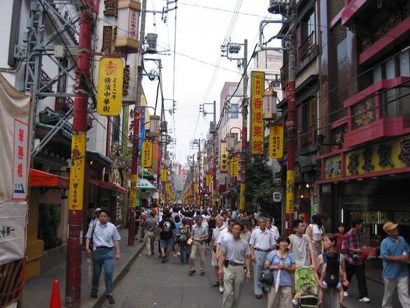 China town in Yokohama 1