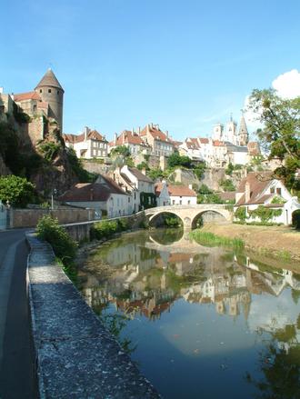 Semur en Auxoix, Burgundy, Fra