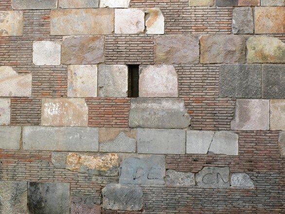Ancient roman wall
