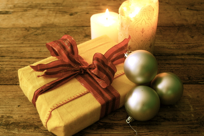 Present & Candles