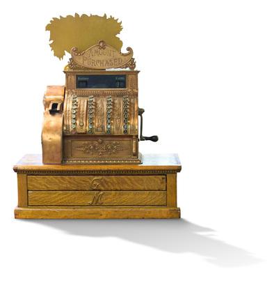 Cash Register - Old