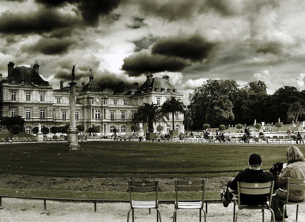 free jardin du luxembourg stock photo. Black Bedroom Furniture Sets. Home Design Ideas