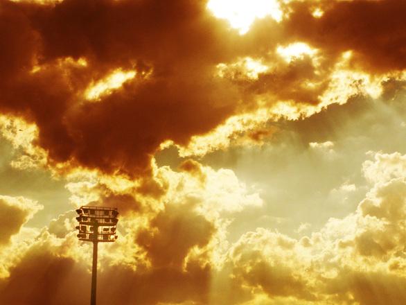 Stadium Lights and Sky
