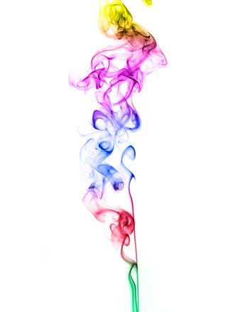 Incense Smoke color photo files