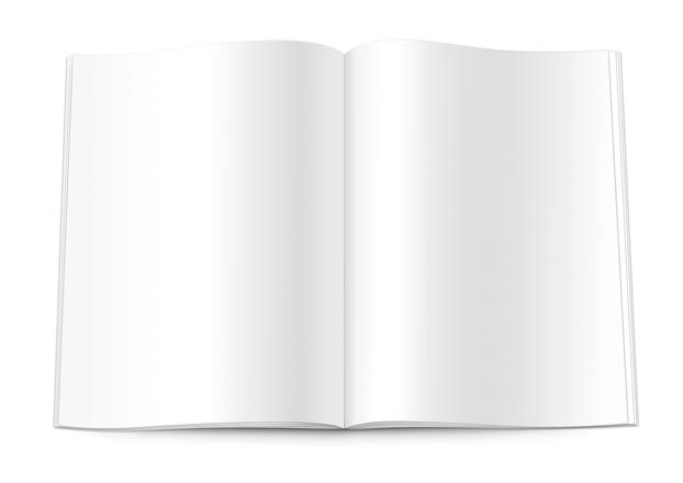 Isolated Blank Magazine 2, photo file, #1236848 ...