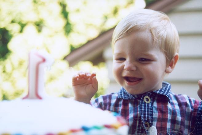 Korupaja syntymäpäivillä