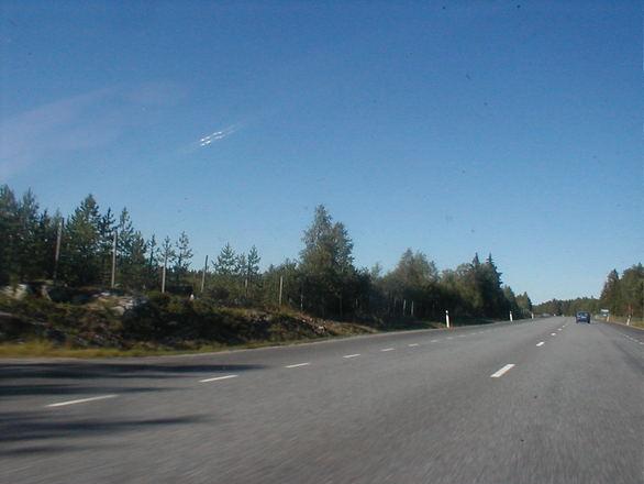 summer swedish road