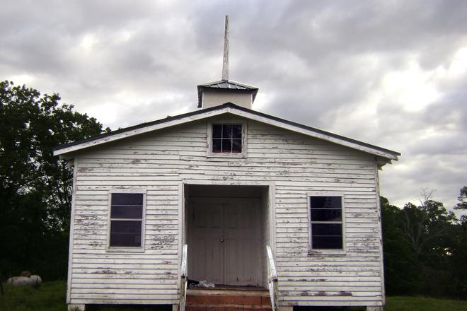 Rural Abandoned Church
