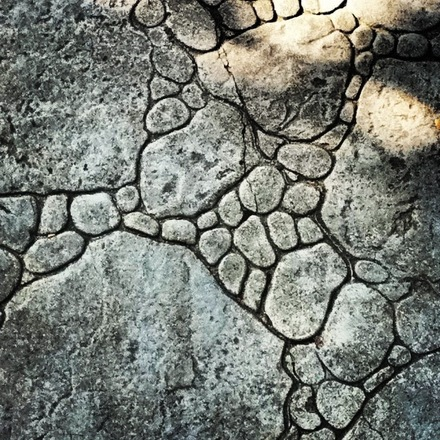 Stone Side walk Pattern