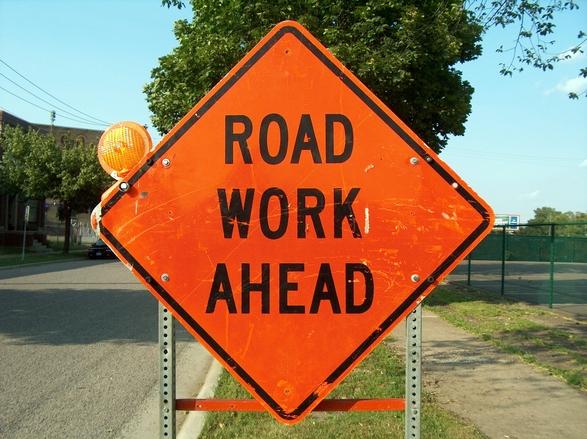 Road Work Ahead 2