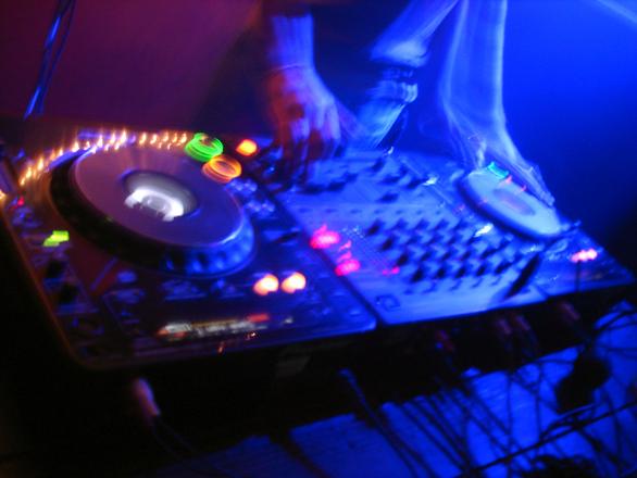 dj mix session