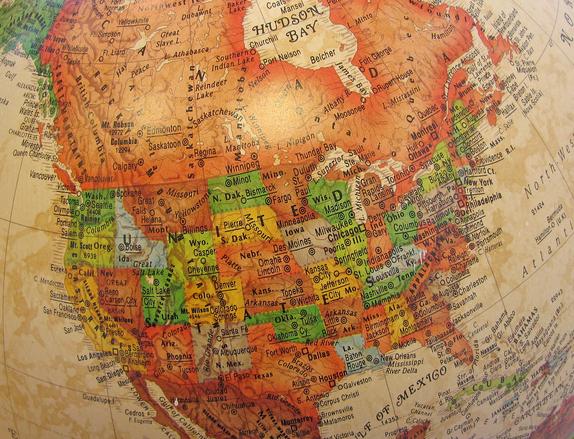 USA:n kartta
