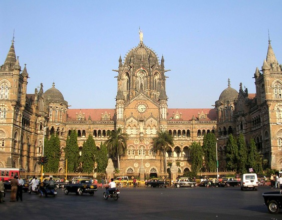 Free Victoria Terminus Mumbai Stock Photo