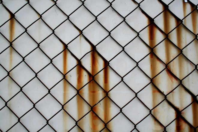 Free Rusted Fence Decay Texture Stock Photo Freeimages Com