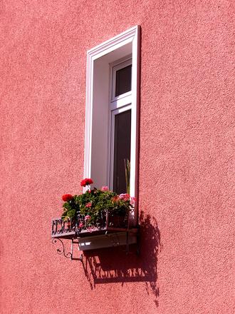 Window in the sun