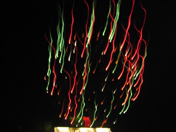 Blurred Fireworks 3