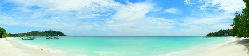 Lipe Island Beach Panorama