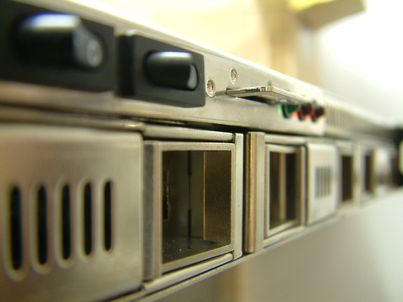 Storage Server rackmounted