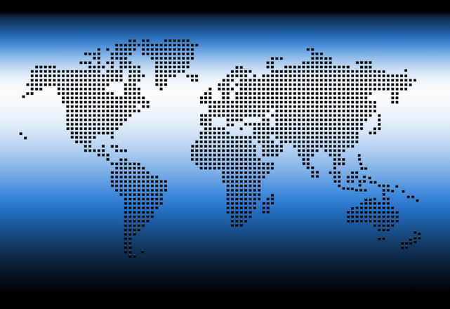 Free digital world map stock photo freeimages gumiabroncs Images