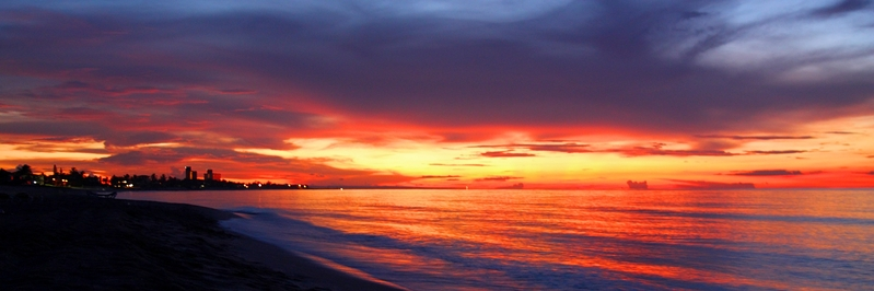 Varadero beach sunset 2