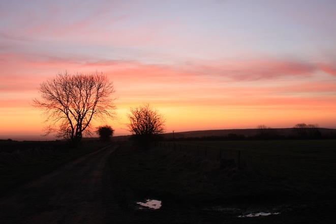 Sunrise at Pickering