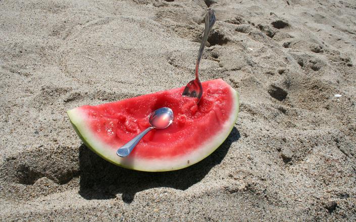 Watermelon at the Beach 2