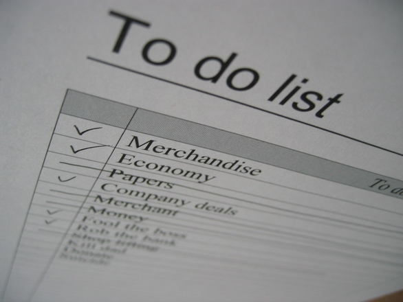 To do list... or not to do-lis