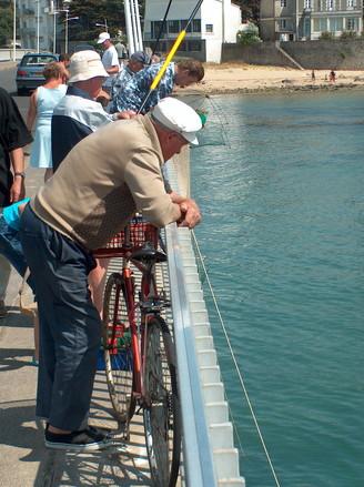 Watching the fishermen