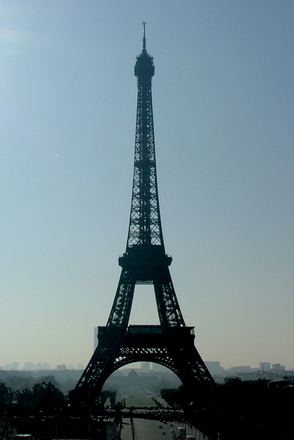 free paris la tour eiffel stock photo. Black Bedroom Furniture Sets. Home Design Ideas