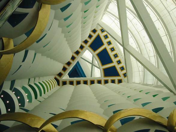 Free Inside Burj Al Arab Stock Photo