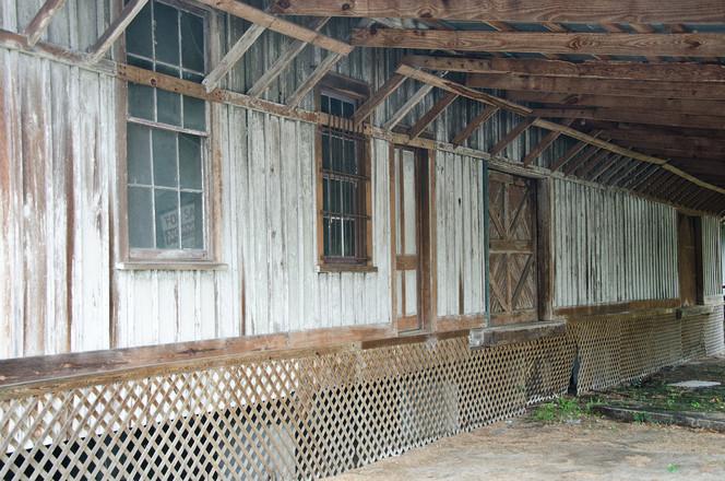 Derelict Railroad Express Freight Office