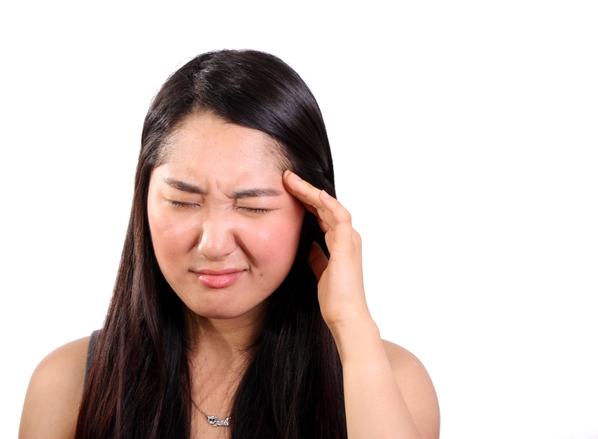 dizziness, headache