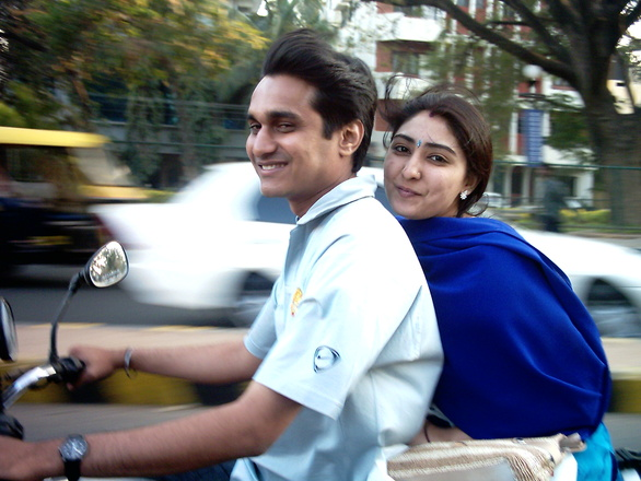 Indian Happy Couple
