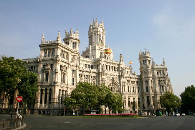 Edificio de correos madrid e photo file 1549004 for Edificio correos madrid